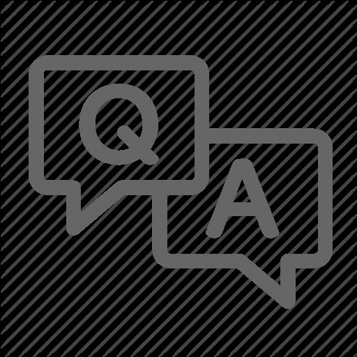 A, Answer, Q, Question, Survey Icon