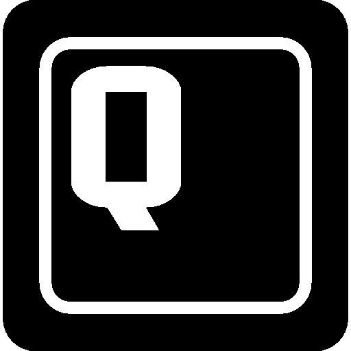 Q Key Icon