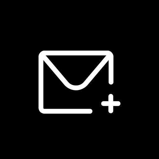 New, Mail, Design Icon