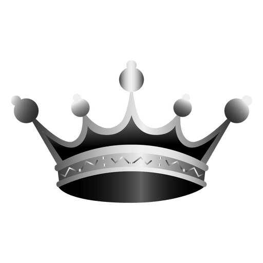 Crown Icon Realistic Illustration