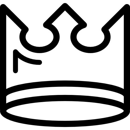 Royal Crown Of A King Queen Prince Or Princess Icons Free Download