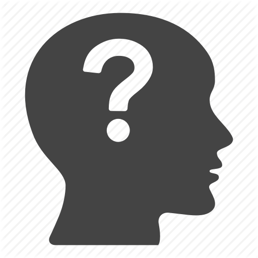 Bald, Creative, Doubt, Mark, Person, Question Icon