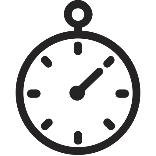 Chronometer, Fast, Timer, Quick, Stopwatch Icon