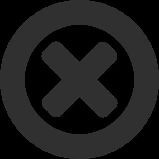 Close Icon Mono General Iconset Custom Icon Design
