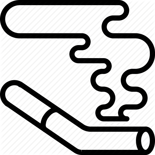 Cigarettes Vector Outline Transparent Png Clipart Free Download