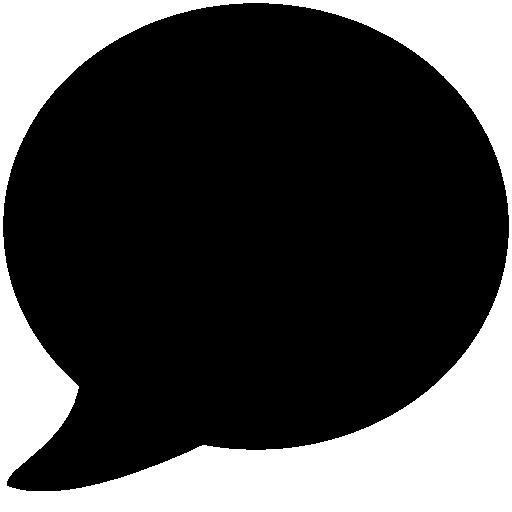 Messaging Speech Bubble Icon Windows Iconset