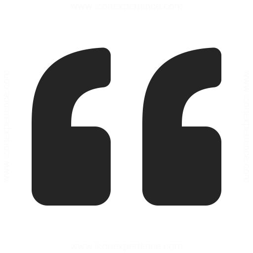 Quotation Mark Icon Iconexperience