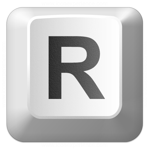 Iconexperience V Collection Keyboard Key R Icon