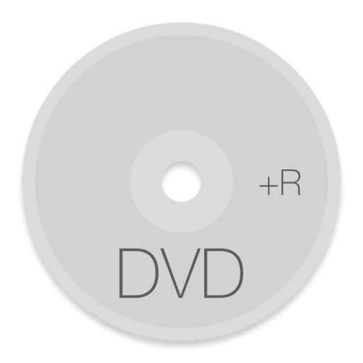 Dvd Plus R Icon Button Ui System Folders Drives Iconset