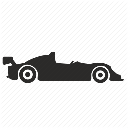 Automobile, Car, Formula, Race Icon