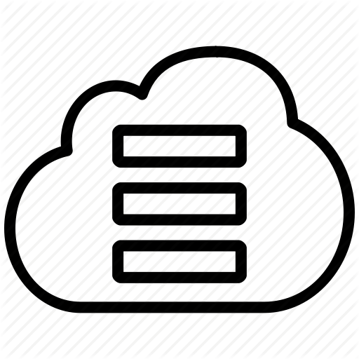 Pictures Of Cloud Database Icon Png
