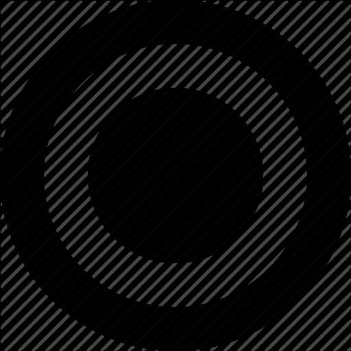 Checked, Circle, On, Radio, Radio Button, Round Icon