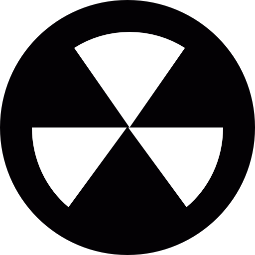 Biological Radioactive Icons Free Download