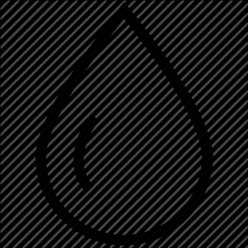 Blood Drop, Drop, Droplet, Rain, Raindrop, Water Icon