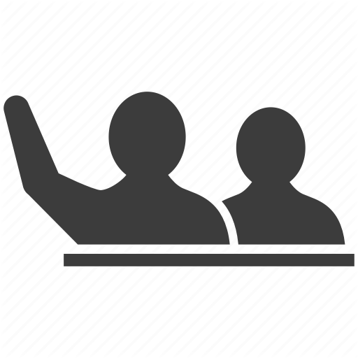 Hand, Opinion, Raise, Speak, Speaking, Volunteer Icon