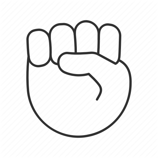 Fist, Fist Emoji, Fist In The Air, Hand Gesture, Hold, Raised Fist