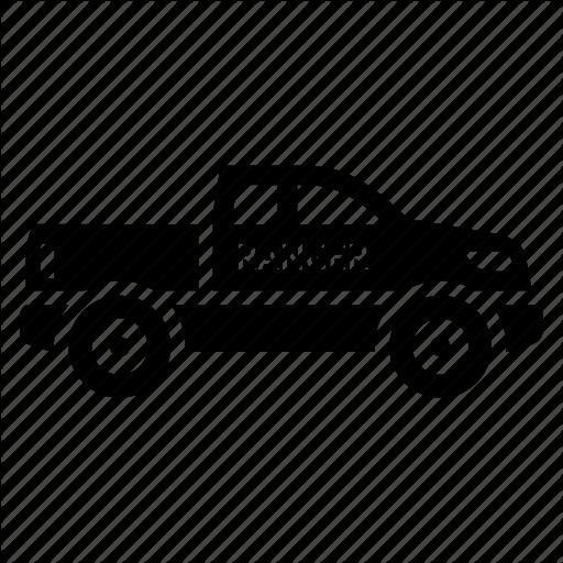 Car, Cop, Police, Ranger Car, Transport Icon
