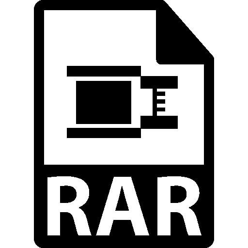 Rar Format Icons Free Download