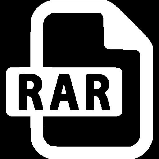 White Rar Icon