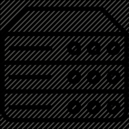 Data, Database, Dbms, Ordbms, Rdbms, Server, Storage Icon