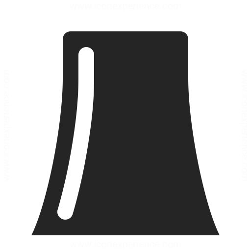 Cooling Tower Icon Iconexperience