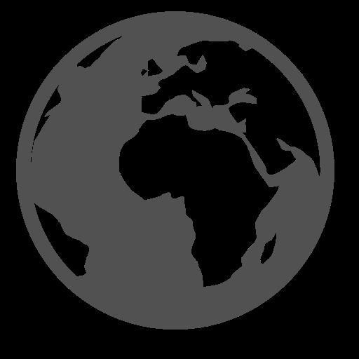 Online, Globe, World Icon