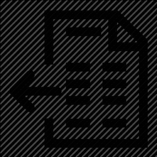 Invoice, Receive Icon