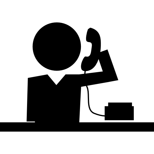 School Call Phone Reception Icons Free Download