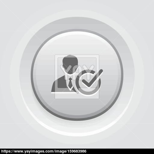 Recruitment Icon Business Concept Vector