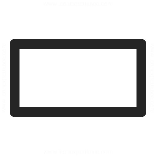 Shape Rectangle Icon Iconexperience