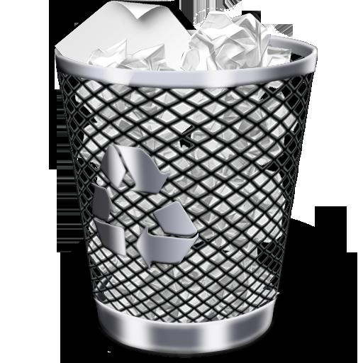 Recycle Bin Full Icon Iwindows Iconset Wallec