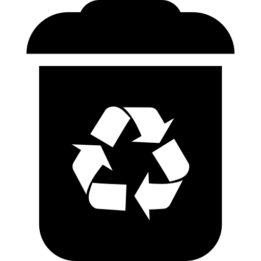 Recycle Bin Interface Symbol Icons Free Download