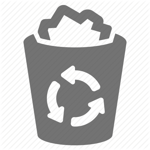 Bin, Can, Delete, Litter, Paper, Recycle, Trash Icon
