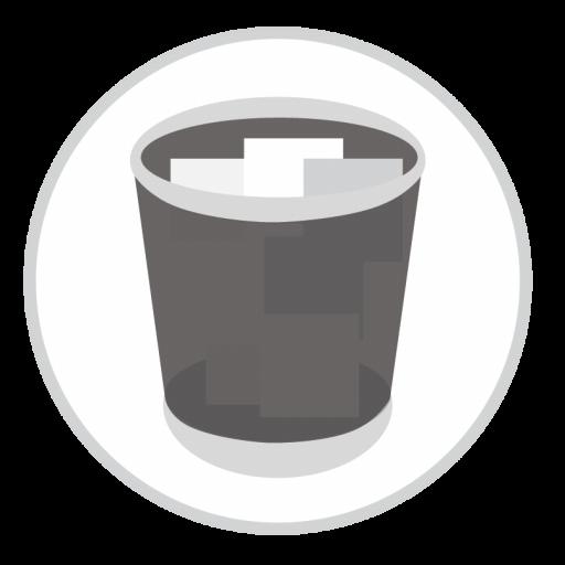 Trash Full Icon Stock Apps Part Iconset Hamza Saleem