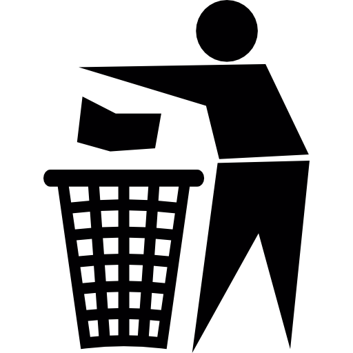 Throw To Paper Bin