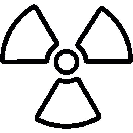 Radioactive Alert Icons Free Download