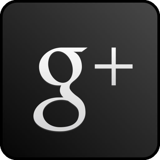 Googleplus Custom Black Icons, Free Icons In Red Google Plus