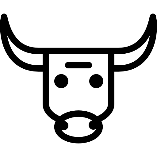 Bull Head Icons Free Download