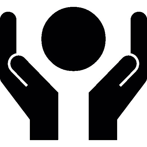 Circle Between Hands
