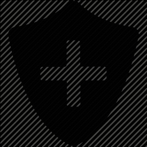 Medical Shield, Medicine Shield, Red Cross Shield, Shield