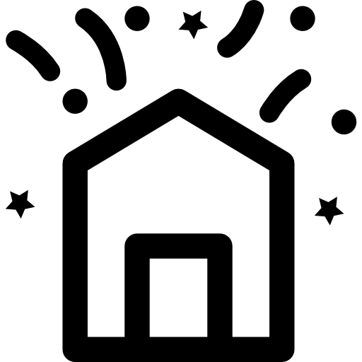 Party In House Icons Free Download