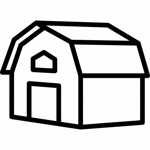 Agriculture, Barn, Farm, House Icon