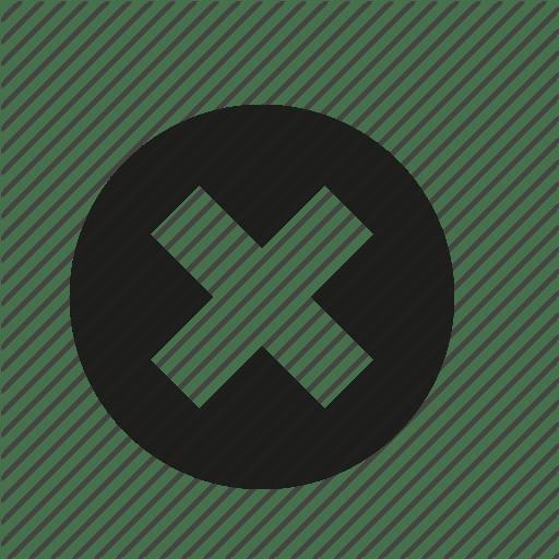 Close Button Red X Icon