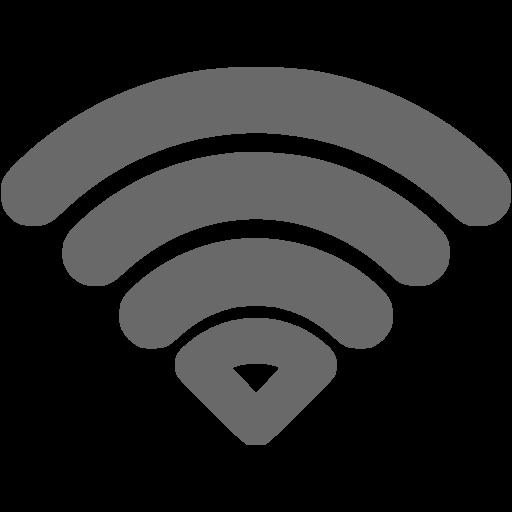 Dim Gray Wifi Icon