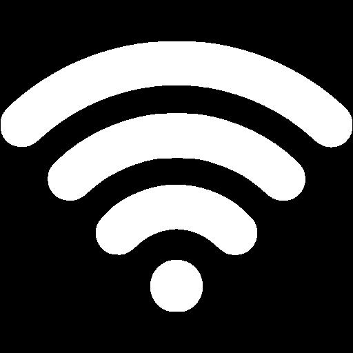White Wireless Icon