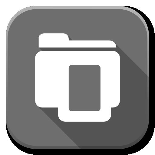Apps Open Icon Flatwoken Iconset Alecive
