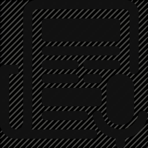 Newspaper, Press, Release Icon