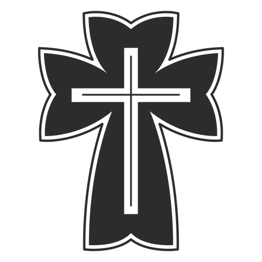 Religious Christian Cross Icon