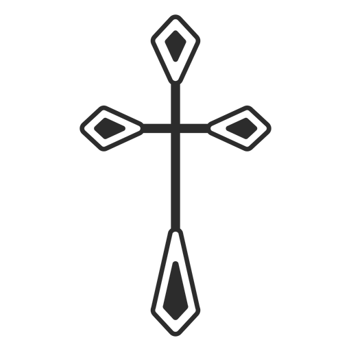 Christian Cross Religious Icon