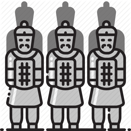 Army, China, Sculptures, Terracotta, Terracotta Army, Warriors Icon
